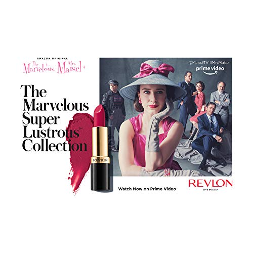 From Revlon, The Marvelous Super Lustrous Collection in Take...