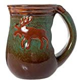 Cape Shore 18oz Stoneware Handwarmer Mug - Multiple Styles Available (Moose)