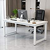 White Computer Desk for Home Office Laptop iPad TV Notebook PC 47