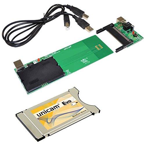 Unicam Evo - Módulo de televisión de pago, plateado (importado)