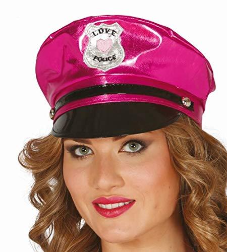 Guirca 13359 - Gorra Policia Sexy Rosa