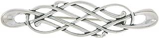 Sterling Silver Celtic Knot Pin Brooch