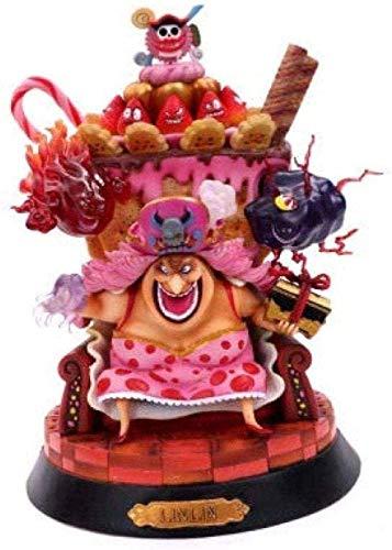 kaige Animacin de Personajes One Piece Battle Scene Statue Jouet Souvenir Cadeau Agrave;Coleccin Artisanat Desagute; Corazn Charlotte Linlin WKY