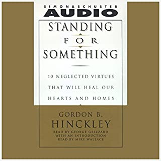 Standing for Something audiobook cover art