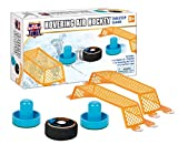 PMT Holdings Air Hockey Tabletop Game - for Kids and Adults, Portable Fun - Includes: 2 Goals - 2 Paddles - 1 Hovering AIR Puck