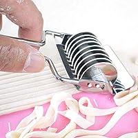 キッチン用品、ポット 手動パスタマシンステンレス鋼の一般家庭パスタ製造機マニュアル麺メーカー手はスパゲッティパスタカッター麺ハンガー手動パスタマシンを運営しました