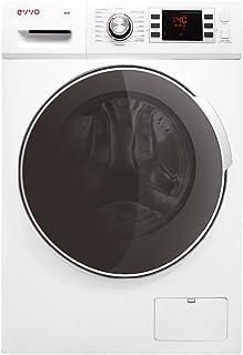 EVVO 4.10 - Modelo 4.10 Lavadora-secadora de carga frontal de 10 KG de lavado y 7 KG de secado y 1600 RPM, Marca Española, Color blanco, [Clase de eficiencia energética A]