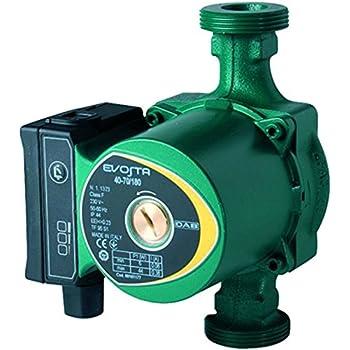 Verde Wilo 4028111 Pompa di circolazione  Acqua a rotore bagnato con attacco a bocchettoni