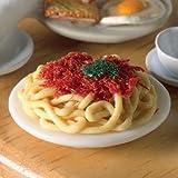 The Dolls House Emporium Ein Piatto con Spaghetti Bolognese