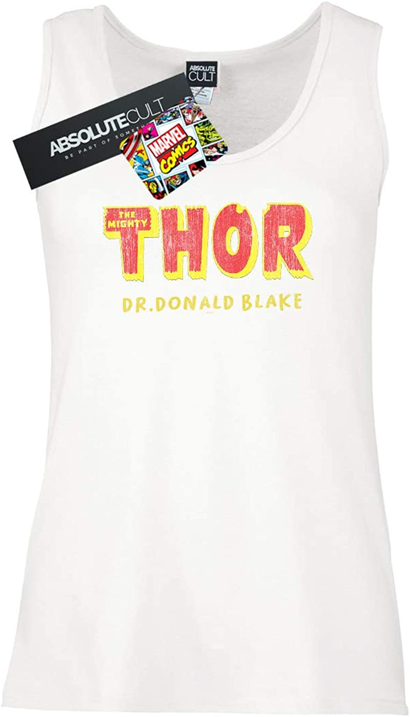 Marvel Mujer Thor AKA Dr Donald Blake Camiseta Sin Mangas ...