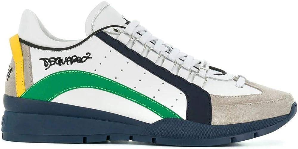 Dsquared2 luxury fashion ,sneakers per uomo,in pelle SNM040411570001M836