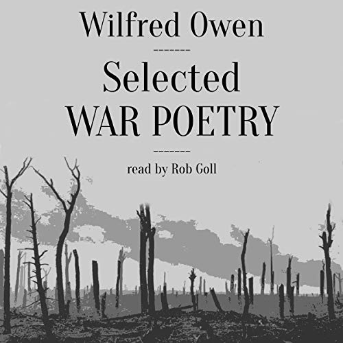 Selected War Poetry audiobook cover art
