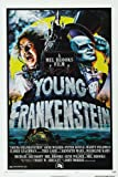 12X8 INCHES Young Frankenstein Movie Poster Druck ca.