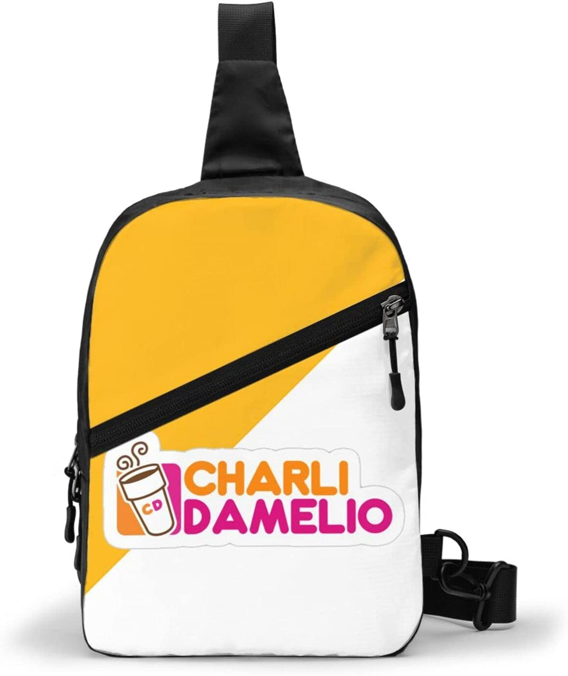 Charli Damelio Chest Sales New item of SALE items from new works Package Sling Large Bag Capacity Multipurpo