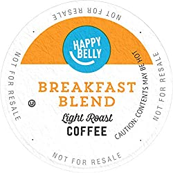 Amazon Brand - 24 Ct. Happy Belly Breakfast Roast Coffee Pods