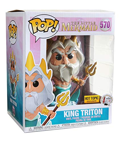 Funko Pop! Disney The Little Mermaid King Triton 6\ Exclusive #570