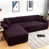 LTHDD Funda de sofá elástica, funda de sofá de licra jacquard...