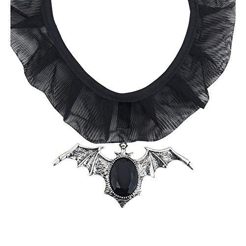 Widmann - Kostüm-Schmuck für Erwachsene in Grau, Schwarz, Größe One Size