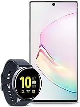 Samsung Galaxy Note 10+ Plus Factory Unlocked Cell Phone with 256GB (U.S. Warranty), Aura White/ Note10+ w/Samsung Galaxy Watch Active2 (44mm), Aqua Black - US Version with Warranty