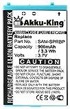 Akku-King Akku kompatibel mit Nintendo Gameboy Advance SP - Li-Ion 900mAh
