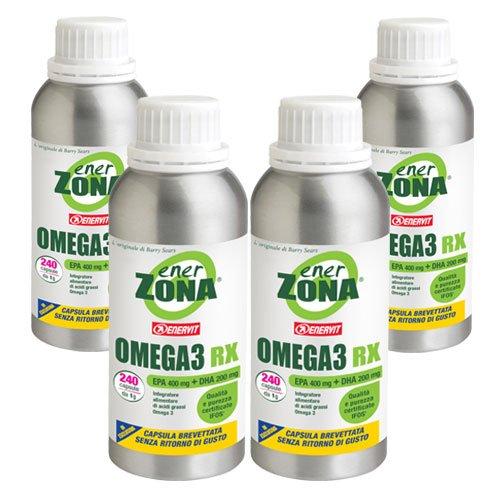 enerZONA Omega3 RX da 1g 960 capsule (4x240capsule)