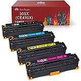 Toner Kingdom Cartucho de Tóner Compatible para HP 305X para HP LaserJet Pro 400 color MFP M475dn MFP M475dw M451dn M451nw M451dw Pro 300 color MFP M375nw