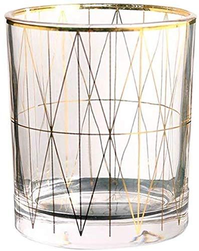 Pen Houder, Cosmetische opbergdoos Glas/Multifunctioneel/Driedimensionaal/Duurzaam/Desktop Organizer