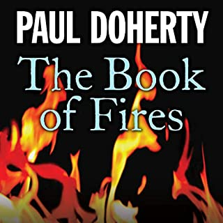 The Book of Fires audiobook cover art