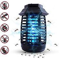 Mata Mosquitos para Dormitorio Trampa de Mosquitos con Luz UV LZS Lampara Mosquitos Electrico Oficina y Hogar Cocina