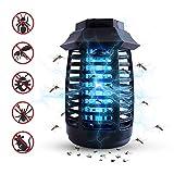 Lámpara Mosquito Electrico, Lámpara antimosquitos UV Luz Lampara, Electrico Lámpara Anti Mosquitos para la Cocina la Sala de Estar el Cuarto de los Niños, Negro