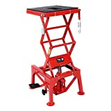 Goplus 300lb Motorcycle Lift Table Hydraulic Cycle Dirt Bike ATV Scissor Jack Lift Hoist Center Stand Lift