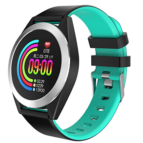 Smartwatch, LQIAN Fitness Tracker Uhr Armband Sportuhr Smart Watch mit SMS Facebook, Twitter, Whatsapp, Linkedin, Messenger, Benachrichtigungskompatibles iOS und Android Kompatibel mit Männer Frauen