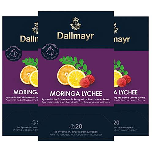 Dallmayr Teepyramide Moringa Lychee, 0.101 g 3er Pack