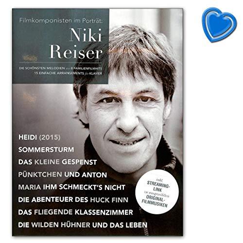 Filmkomponisten im Porträt Niki Reiser - die schönsten Melodien aus 8 Familienfilmhits - Spielbuch mit Notenklammer - Bosworth Edition BOE7783 978386543886