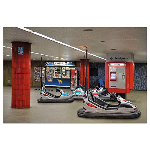 Ansichtkaarten +++ DIN A6 KÖLN motief: metro scooter I stadhoeken I Hoogwaardige kaarten I Leven & Momenten grappig I Ansichtkaarten Postcrossing I Geschenk I Geschenkidee