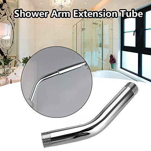 mooderff 15 cm / 5.9 inch ronde douchekop verlengingsarm roestvrij staal douche verlengbuis voor badkamer badkamer accessoires