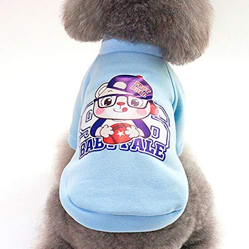 Bubbry truien, velours, katoen, cartoon-patroon, kleine hond