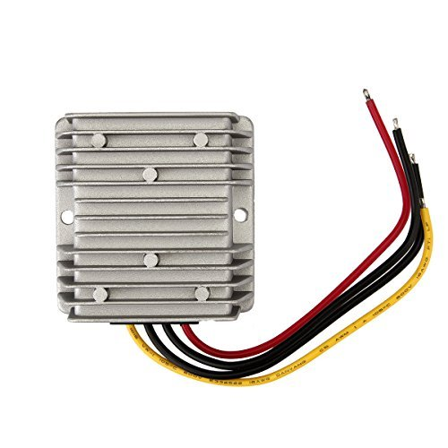 DC/DC Voltage Converter Buck Converter 36V Step Down to 12V 10A 120W Waterproof Voltage Regulator for Golf Cart LED Strip Light Power Supply Transformer