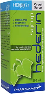 Herbifit Hederin Cough Syrup 200 mL