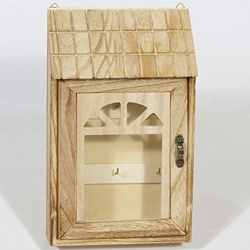 Schlüsselkasten aus Holz Modell Schwarzwaldhäuschen