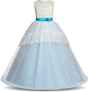 BCSHF Vestido de Princesa de Las niñas Trajes de Vestidos de Novia Vestidos de Encaje Princesa de Las Muchachas Partido de...