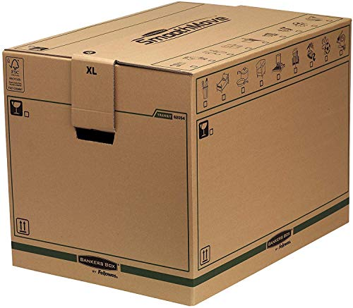 Bankers Box SmoothMove FastFold Umzugskiste (Extra Große) 5er-Pack thumbnail