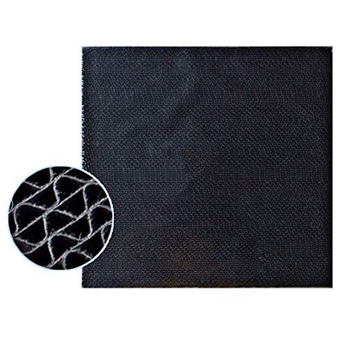 BUYD Carte Filtro Aria condizionata Parti del Filtro catalitico della deodorazione Nera compatibili con Daikin MC70KMV2-N MC70KMV2-R MC70KMV2-K MC70KMV2-A Filtro Purificatore d'Aria Carta Spugna