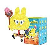 POP MART Labubu Spongebob 1PC Blind Box Toy Box Bulk Popular Collectible Random Art Toy Hot Toys Cute Figure Creative Gift, for Christmas Birthday Party Holiday