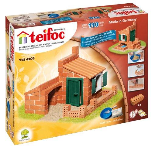 Teifoc TEI 4105 - Mattoncini per costruire 2 case