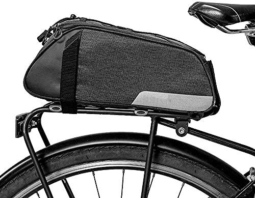 ZHTT New Outdoor Backpack Bike Bag Mountain Bike Riding Shelf Package 7-8L Increase Reflective Package Bike Bag