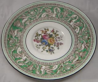 Wedgwood Florentine Green W1232 Cream Soup Saucer