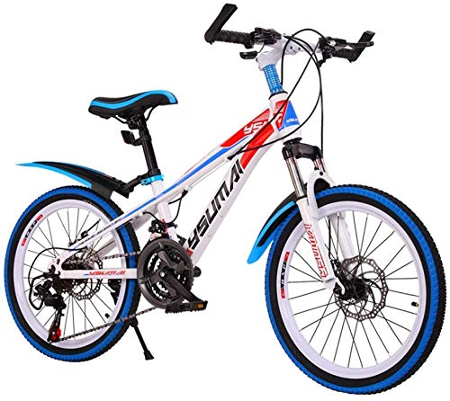 Bici da strada del Commuter City, Biciclette for bambini Mountain bike Outdoor bici adulta Marathon biciclette Tempo libero Studente biciclette a velocità variabile bicicletta? (Colore: Blu, Dimension