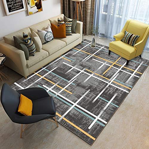 CarPET Geschikt voor gebruik in de foyer, slaapkamer antislip, ademende Scandinavische stijl huis moderne minimalistische tapijt, mat voor baby crawling,SDH16,140x200cm