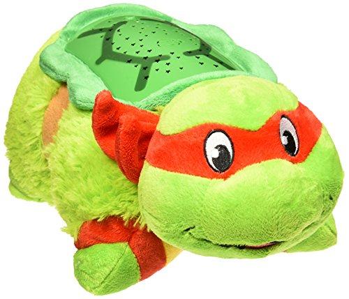 Teenage Mutant Ninja Turtles Raphael - TMNT Dream Lites Pillow Pets Stuffed Animal Night Light